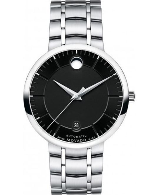 MOVADO 1881 Automatic Black Dial Watch 39.5mm