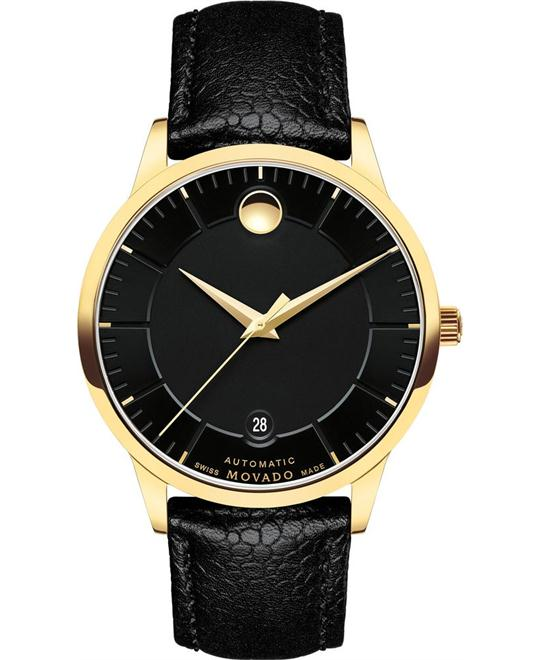 MOVADO 1881 Black Dial Automatic Men's Watch 39.5mm