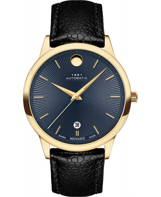 Movado 1881 Watch 39.5mm