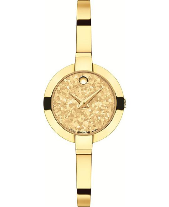 MOVADO Bela Yellow Gold PVD Watch 25mm