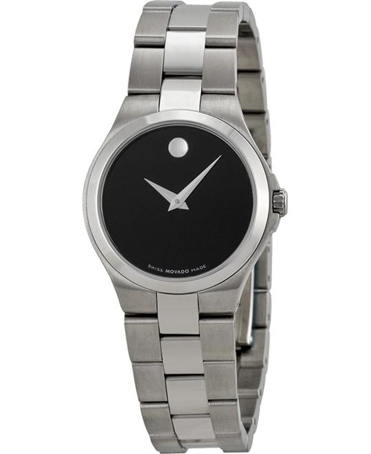 MOVADO Black Ladies Watch 27mm