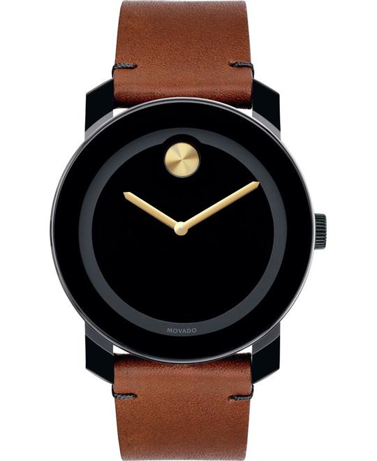 Movado BOLD Black TR90 Large Watch 42mm