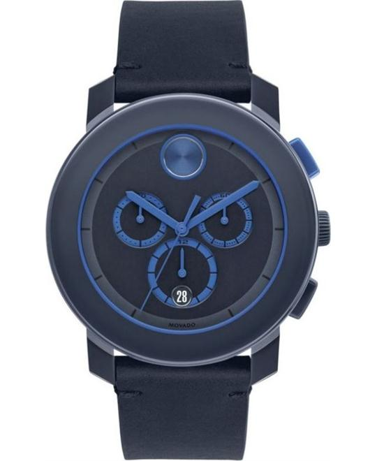 MOVADO Bold Chronograph Navy Watch 44mm