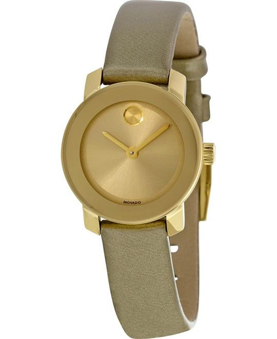 MOVADO Bold Gold Ladies Watch 25mm
