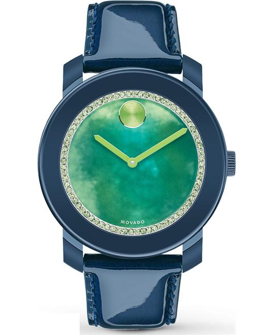 MOVADO Bold Green Watercolor Watch 42mm