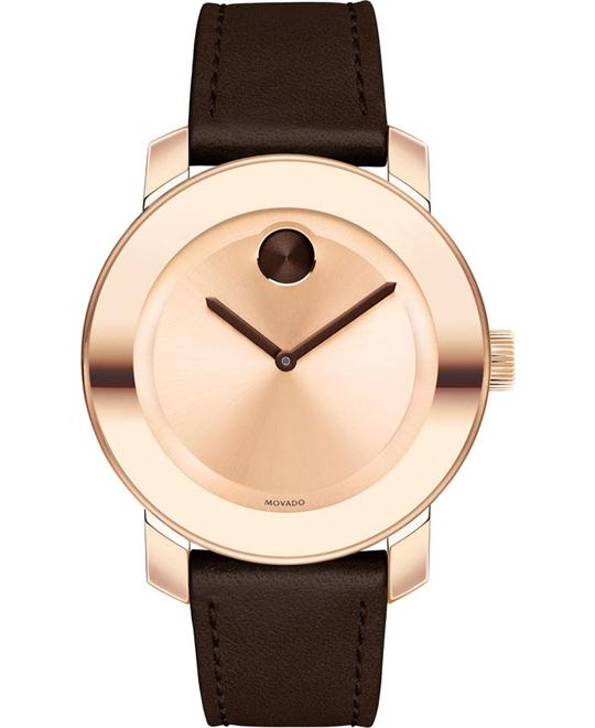 MOVADO Bold Rose Dial Ladies Watch 36mm