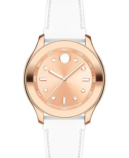 MOVADO Bold Rose Gold-Tone Dial Ladies Watch 38mm