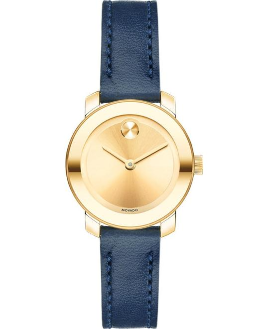 MOVADO Bold Yellow Sunray Ladies Watch 25mm