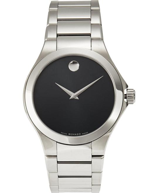 MOVADO Defio Black Men's Watch 39mm