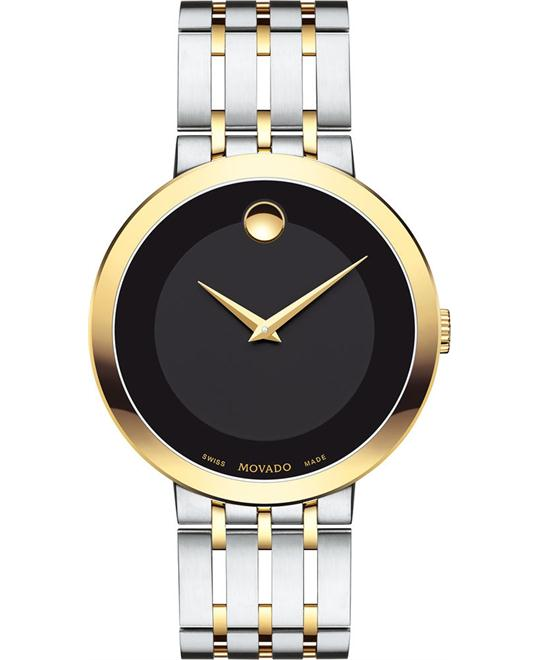 đồng hồ MOVADO Esperanza Black Museum Watch 39mm
