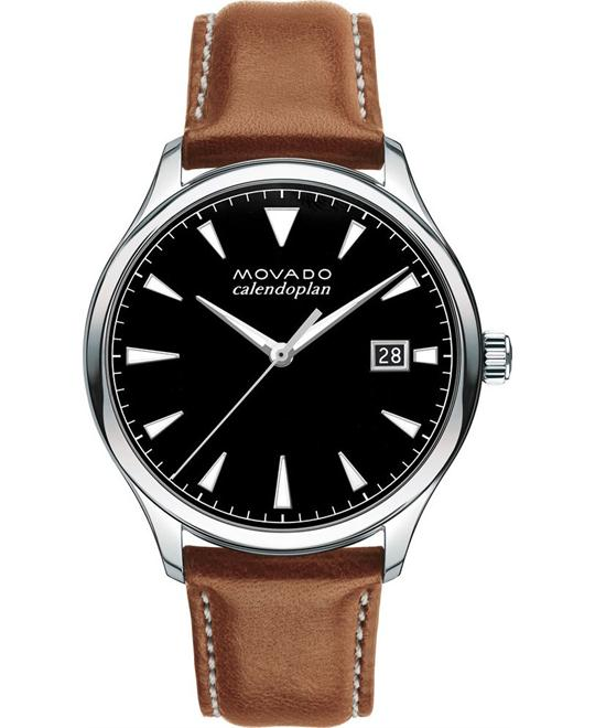 Movado Heritage Series Calendoplan Watch 40mm