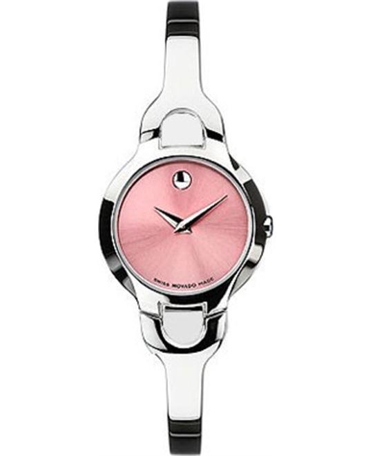MOVADO Kara Pink Ladies Watch 24mm