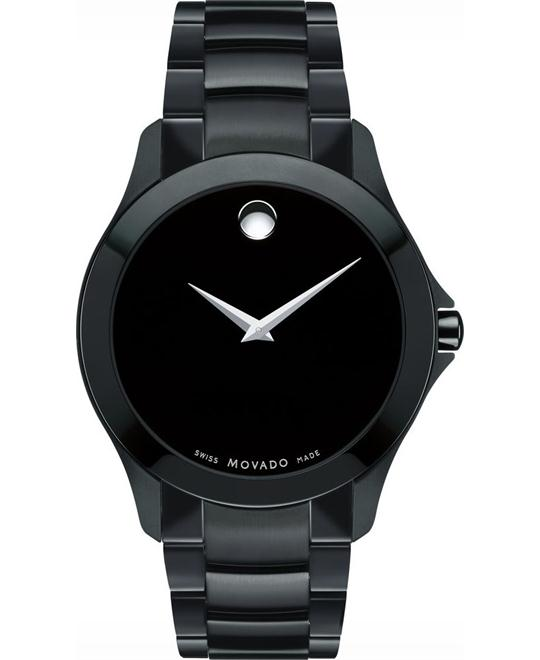 Movado Masino Black Ion-plated Watch 38mm