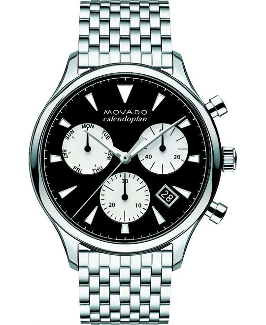 Movado Men's Swiss Chronograph Heritage watch 43mm