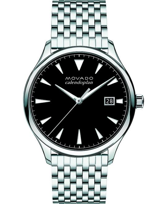 Movado Men's Swiss Heritage Stainless Watch 40mm