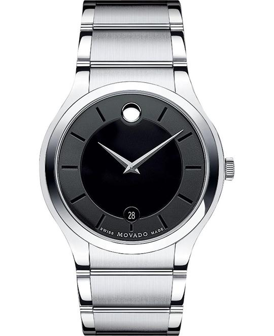 Movado Quadro Swiss Bracelet Watch 38mm