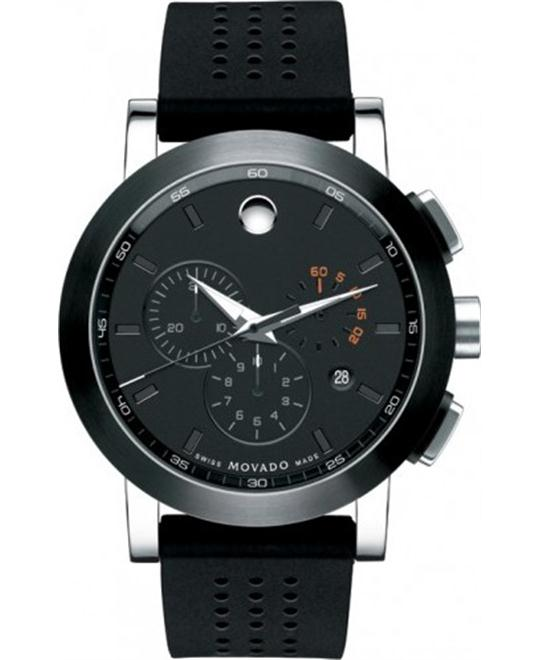 MOVADO Museum Sport PVD Chronograph Men's Watch 44 mm