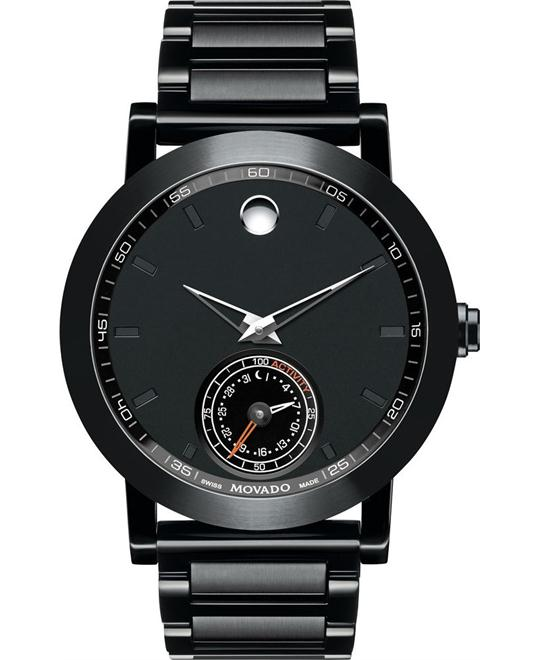 MOVADO MUSEUM SPORT MOTION WATCH 44mm