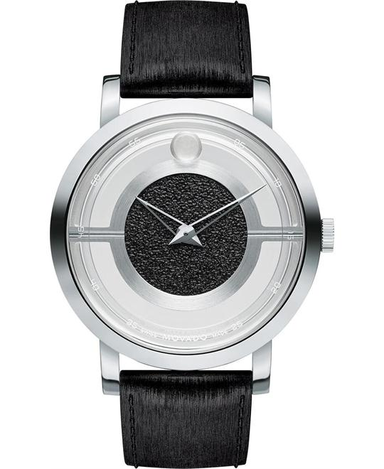 MOVADO Museum Translucent Rubber Watch 43mm