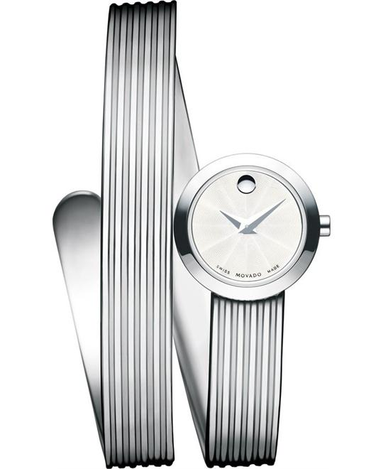 MOVADO Museum Wrap Glass Watch 20mm