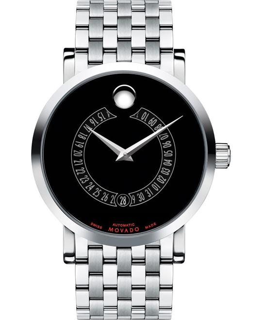 MOVADO Red Label Automatic Animated Date Watch 42mm