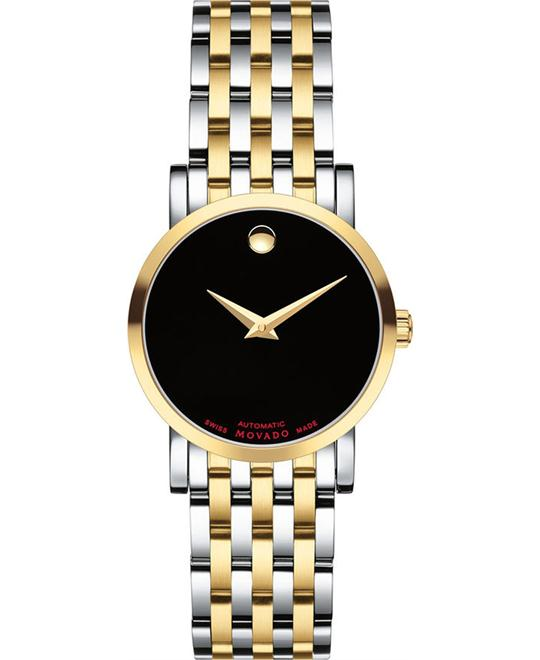 MOVADO Red Label Automatic Ladies Watch 26mm