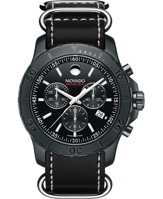 MOVADO Series 800 Chronograph Men's Watch 42mm