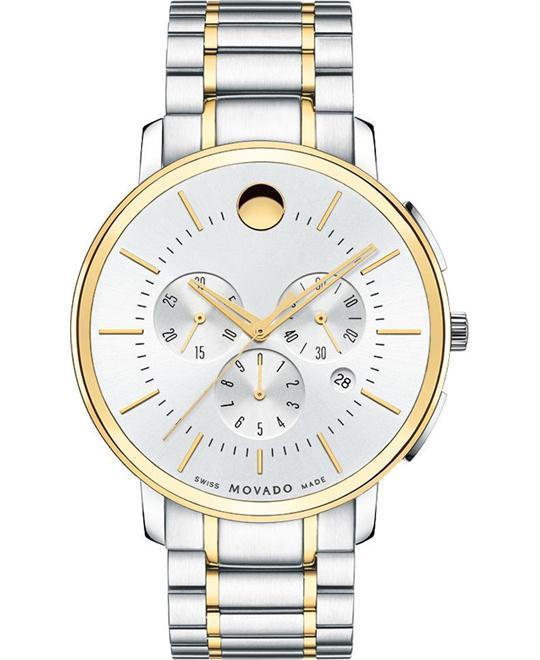 đồng hồ MOVADO Thin Classic Chronograph Watch 44mm