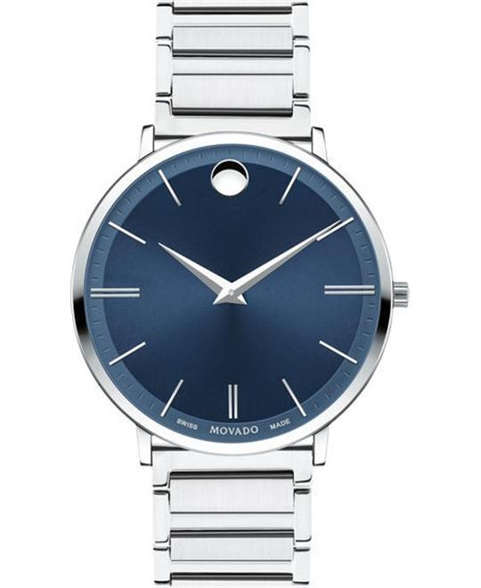 đồng hồ MOVADO ULTRA SLIM MEN'S WATCH 40MM