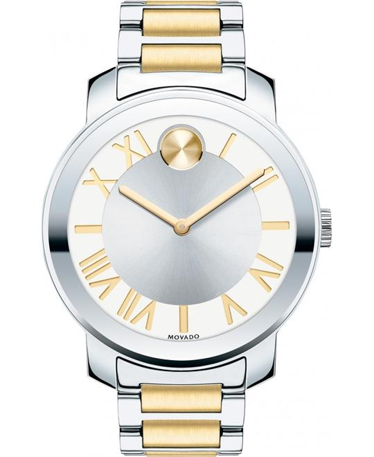 Movado Bold Unisex Two-Tone Watch 39mm