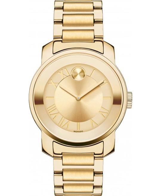 Movado Bold Gold Ion-Plated Women's Watch 32mm