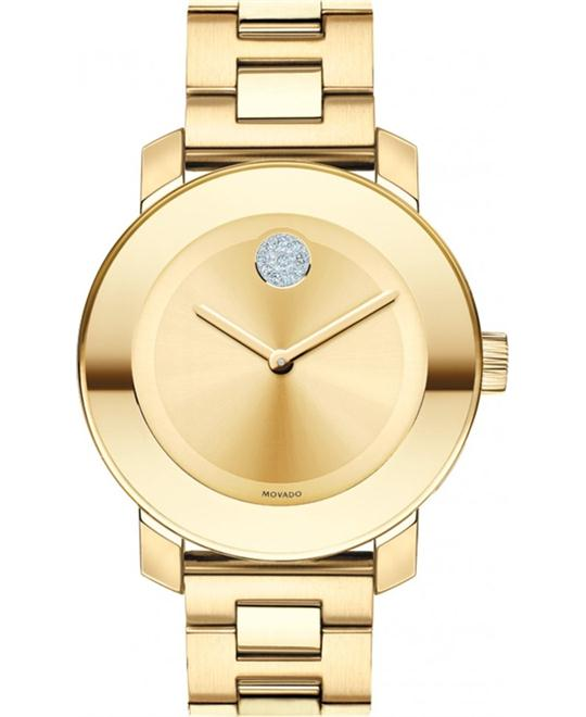 Movado Bold Women's Medium Gold Watch 36mm