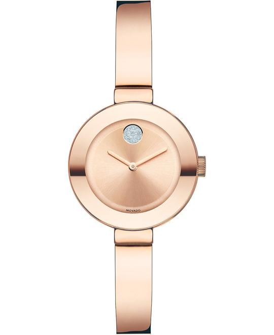Movado Women's Swiss Bold Rose Gold Ion-Plated Watch 25mm