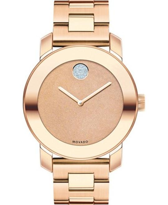 Movado Women's Swiss Bold Rose Gold  Watch 36mm