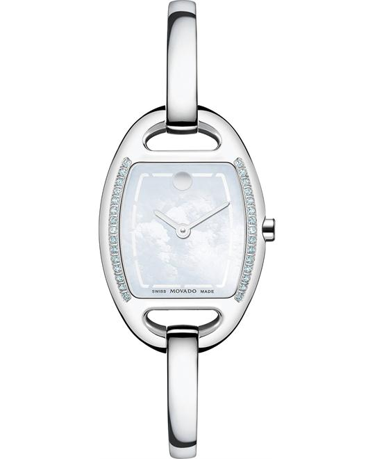 Movado Women's Swiss Miri Diamond Watch 24mm