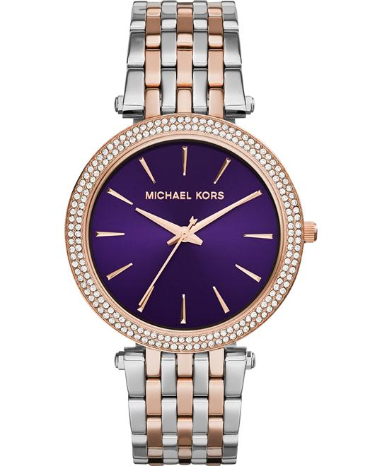 Michael Kors Darci Purple Dial Women's Watch 39mm