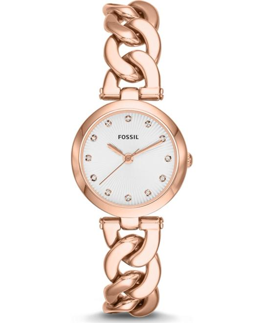 Olive Rose Gold-Tone & Crystal Watch