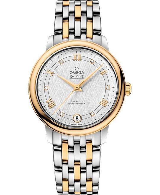 đồng hồ Omega 424.20.33.20.52.001 De Ville Prestige Watch 32.7mm