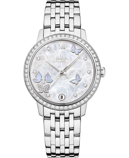 đồng hồ Omega 424.55.33.20.55.003 DeVille Prestige Watch 32.7mm