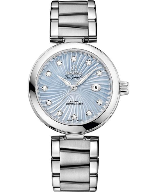 đồng hồ Omega 425.30.34.20.57.002 De Ville Ladymatic Watch 34mm
