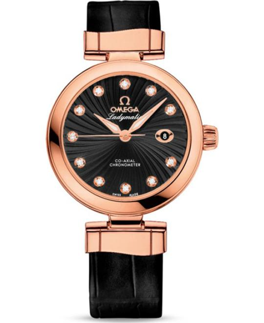 đồng hồ Omega 425.63.34.20.51.001 DeVille Ladymatic Watch 34mm