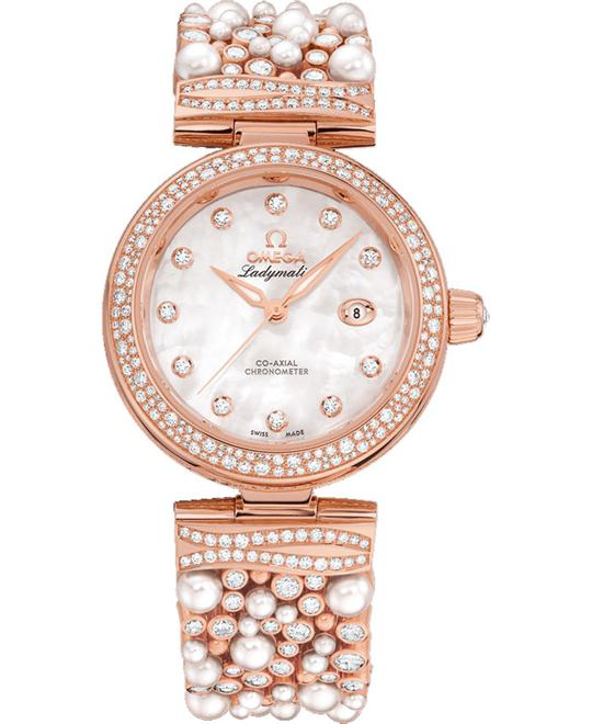 Omega 425.65.34.20.55.008 De Ville Ladymatic 34mm