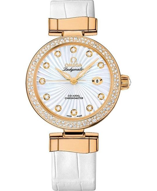 đồng hồ Omega 425.68.34.20.55.003 DeVille Ladymatic Watch 34mm