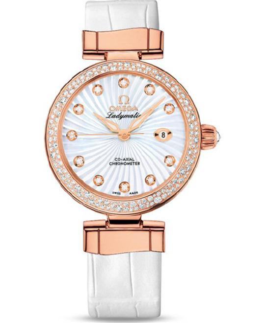 đồng hồ Omega 425.68.34.20.55.004 DeVille Ladymatic Watch 34mm