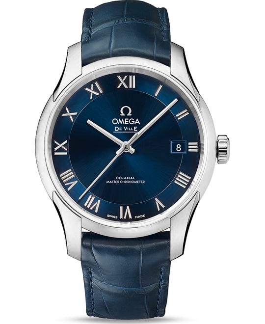 đồng hồ Omega 433.13.41.21.03.001 De Ville Hour Vision Watch 41mm