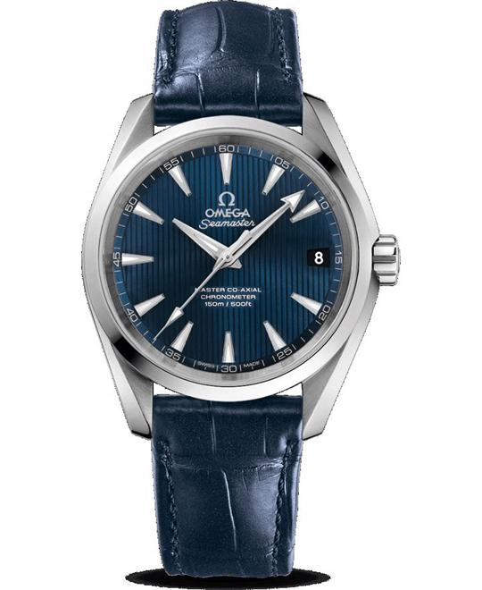 OMEGA Aqua Terra 150m Master Co-Axial Blue Watch 38.5mm