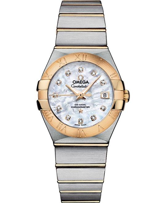 Omega Constellation 12320272055003 Co-Axial Automatic 27mm