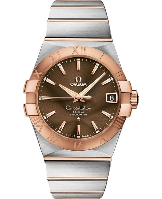 Omega Constellation Co-Axial Automatic Watch 12320382113001 38mm