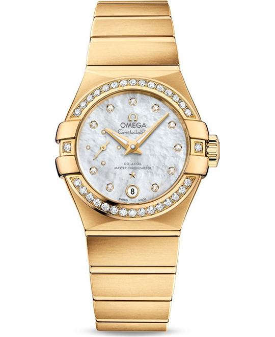 OMEGA Constellation SMALL SECONDS Automatic Ladies Watch 27mm