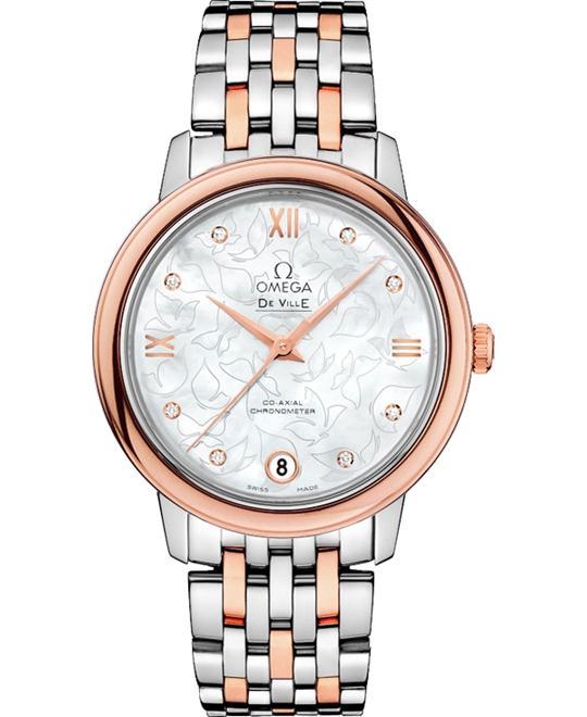 đồng hồ OMEGA De Ville 424.20.33.20.55.001 Prestige Butterfly 27mm